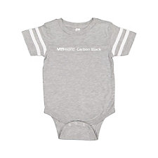 Rabbit Skins Infant Football Fine Jersey Bodysuit - VMware Carbon Black