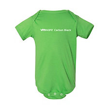 Rabbit Skins Infant Fine Jersey Bodysuit - VMware Carbon Black