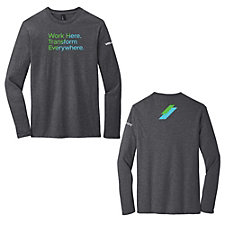 District Very Important Long Sleeve T-Shirt - Talent Acquisition - Work Here