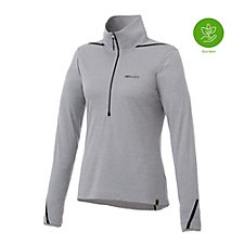 Ladies Deco Eco Knit Half Zip Pullover