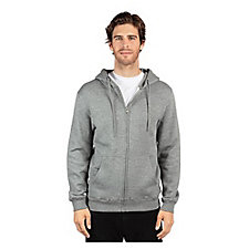 Threadfast Apparel Unisex Ultimate Fleece Full-Zip Hooded Sweatshirt