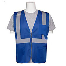 Non-ANSI Mesh Zippered Vest (1PC)