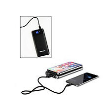 10,000 mAh Wireless Power Bank (1PC)