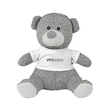 Knit Teddy Bear with T-Shirt - 8 in. (1PC)