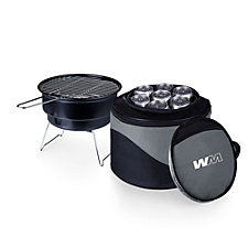 Caliente Portable Charcoal Grill Cooler