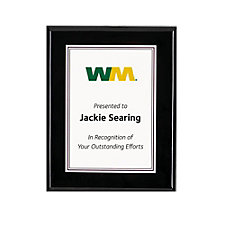 Piano Wood Plaque - 8 in. x 10 in.
