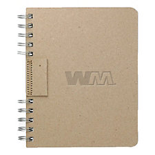 Recycled Cardboard Journal Book - 6 in. x 7.5 in. SHIPS FROM CANADA