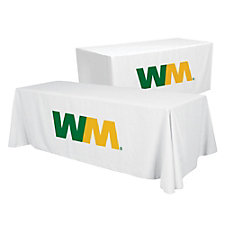 Convertible Table Cloth Full Color Imprint - 8 ft.