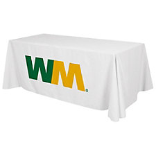 Standard Table Cloth - Full Color Imprint - 6 ft.