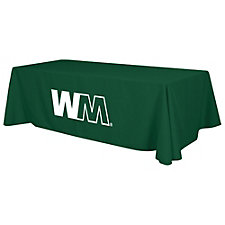 Standard Table Cloth 1 Color Imprint - 8 ft.