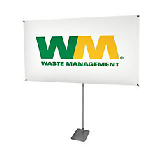 Adjustable Banner Display - 62 in. x 36 in.