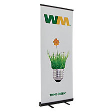 Economy Retractor Banner Display Kit - 31.5 in.