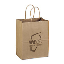 Mini Eco - Kraft Shopper - 7 in. x 4 in. x 9 in. - WMPO