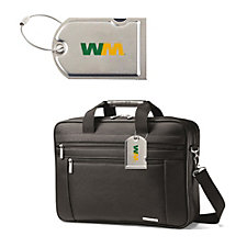 Samsonite Classic Business Computer Portfolio and Luggage Tag