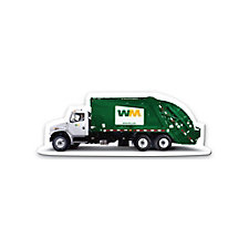 Full Color Garbage Truck Magnet