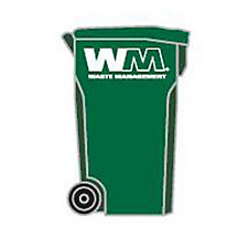 Custom Trash Bin Lapel Pin