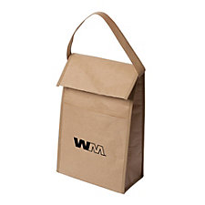 Kraft Paper Retro Lunch Bag