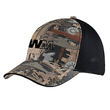 Port Authority Camouflage Hat with Air Mesh Back