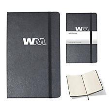 Moleskine Hard Cover Ruled Notebook - 5 in. x 8.25 in.