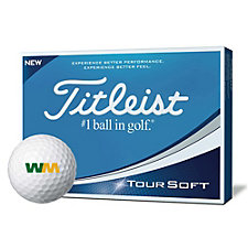 Titleist Tour Soft Golf Balls - 1 Dozen