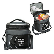 Ice Castle Dual Compartment Cooler Bag - 10 in. x 11 in. x 7 in. - Recycling Warrior