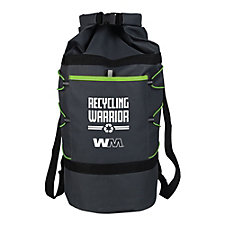 3-in-1 Adventure Duffle Bag - 23 in. x 17.25 in. x 8.5 in. - Recycling Warrior