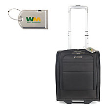 Samsonite ECO-Glide Wheeled Underseat Carry-On with Luggage Tag