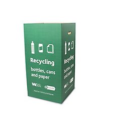 Recycle Only Green Litter Box - Bundles of 5