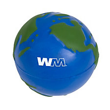 Earth Stress Ball - 2.5 in.