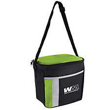 6-Can Color Block Cooler Bag - 8.75 in. x 7.25 in. x 5.5 in.