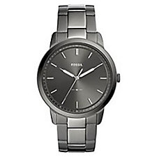 Fossil The Minimalist Smoke Stainless Steel