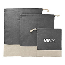 Split Recycled 3pc Travel Pouch Set
