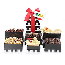 Holiday Elegance Gift Tower