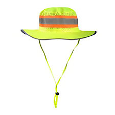 High Visibility Wide Brim Ranger Hat with Solid Top