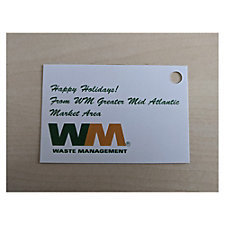 WM Hang Tag - 2 in. x 3 in.