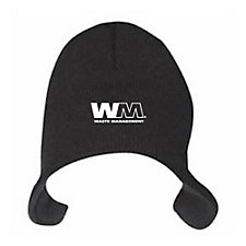 Flip Beanie with Fleece Lining