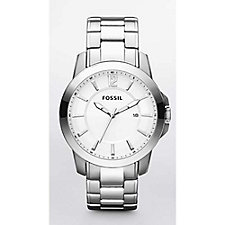 Fossil Silver Dress Watch