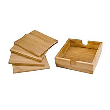 Bamboo Coaster Set - Sets of 4