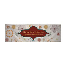 Custom 13 oz. Vinyl Single-Sided Banner - 15 ft. x 5 ft.