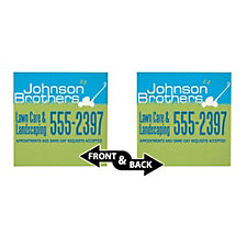 Corrugated Plastic Sign - Double Sided - 18 in. x 18 in.