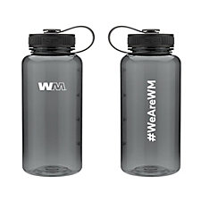 h2go Wide Tritan Plastic Water Bottle - 34 oz. - #WeAreWM