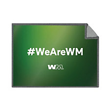 Premium Microfiber Cleaning Cloth - 5 in. x 7 in. - #WeAreWM