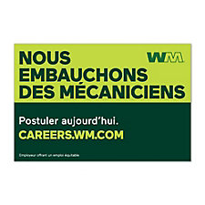 Truck Magnet - 3 ft. x 2 ft. - WM Now Technicians - French