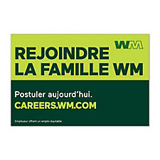Truck Magnet - 3 ft. x 2 ft. - Join the WM Family - French