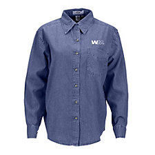 Ladies Woodbridge Denim Shirt SHIPS FROM CANADA