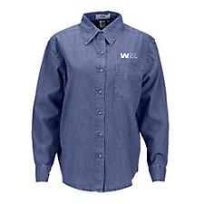 Ladies Woodbridge Denim Shirt SHIPS FROM CANADA