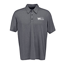 Vansport Micro Melange Polo Shirt SHIPS FROM CANADA