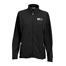 Ladies Vantek Microfiber Full Zip Jacket SHIPS FROM CANADA