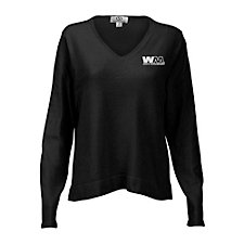 Ladies Clubhouse V-Neck Sweater SHIPS FROM CANADA