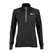 Ladies Play Dry 1/4-Zip Active Pullover SHIPS FROM CANADA